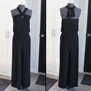 Black Sleeveless Jumpsuit Size 4